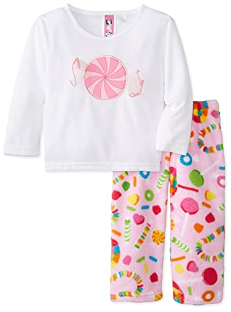 cd38703ded Image Unavailable. Image not available for. Color  Up Past 8 Little Girls  Fuzzy  Pant ...