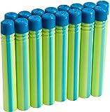 Boomco - BGY59 - Jeu De Fléchettes - Pack De 16 - Vert Avec Traits Bleu