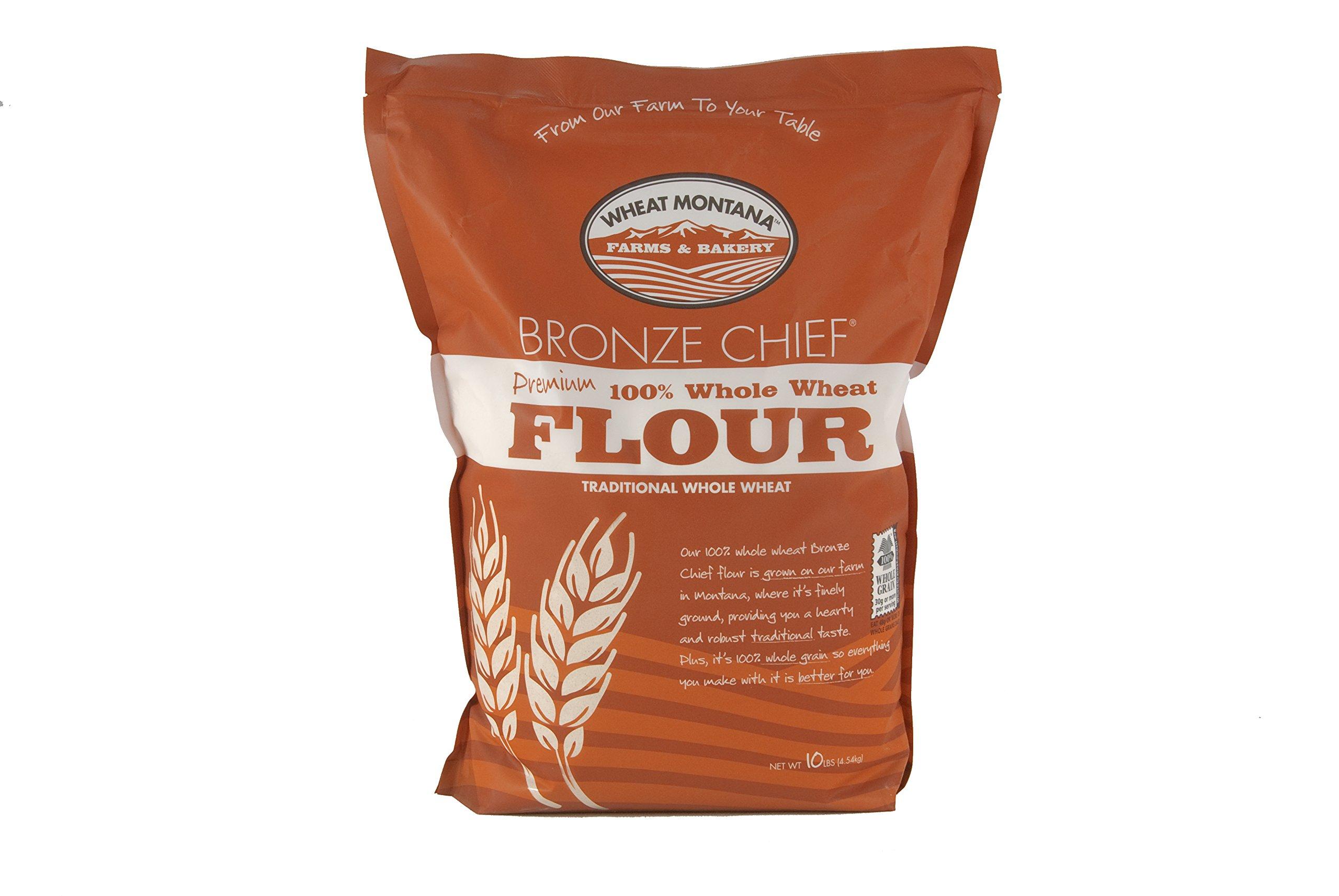 "Amazon.com : Wheat Montana ""Bronze Chief"" 100% Whole Wheat"