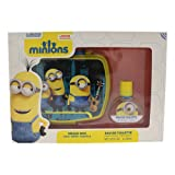 Minions for Kids 2 Piece Gift Set with Edt Spray
