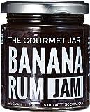 The Gourmet Jar Banana Rum Jam, 240g