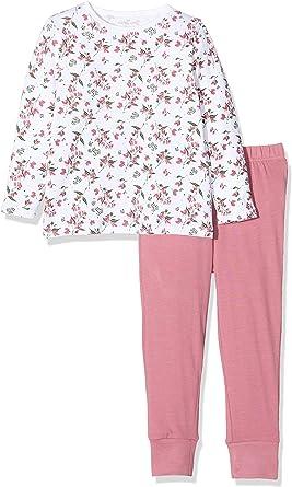 Name It Nmfnightset Barely Pink ANI AOP Noos Pigiama Bimba