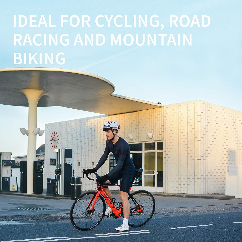 Corsa su Strada Traspiranti Racing Spinning per Bici DANISH ENDURANCE Calzini da Ciclismo Corti per Uomo e Donna Mountain Bike MTB Pacco da 3