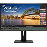 "Asus ProArt PA329C 32"" 4K (3840 X 2160) HDR10 Displayhdr600 Monitor 100% Adobe RGB IPS Eye Care DisplayPort USB Type-C HDMI,B"