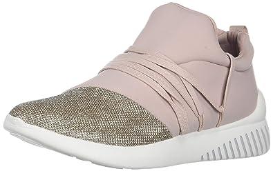 DV by Dolce Vita Women's Rumble Sneaker, Blush Fabric, 8.5 M US