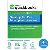 Deals on QuickBooks Pro Plus 2021 w/Enhanced Payroll + $200 Lowes GC