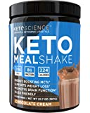 Keto Science Ketogenic Meal Shake Chocolate Dietary Supplement, Rich in MCTs and Protein, Keto and Paleo Friendly…