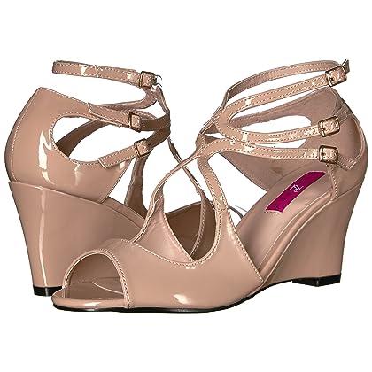 f4308a92a4fe ... Pleaser Pink Label Women s Kim04 Cr Wedge Sandal