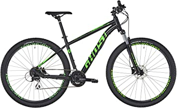 Ghost Kato 2.9 Mountain Bike, Color Night Black/Riot Green, tamaño ...