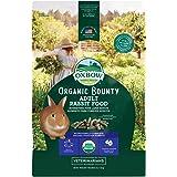 Oxbow Animal Health Organic Bounty Adult Rabbit Food - All Natural Rabbit Pellets - 3 lb.
