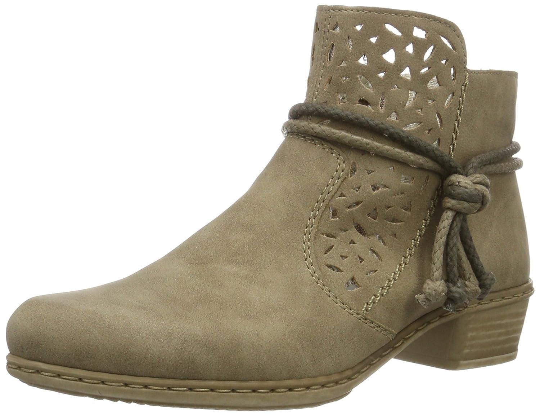 Rieker Damen Y0736 Klassische Stiefel, (Beige   60), 42 EU  Amazon.de   Schuhe   Handtaschen 5894d62af1
