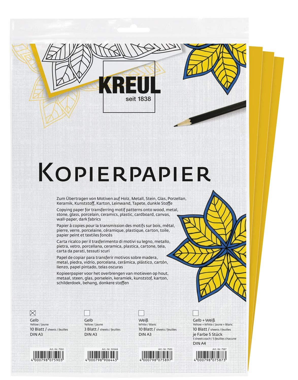 Set di 10 fogli di carta copiativa Hobby Line 7590 30 x 42 cm