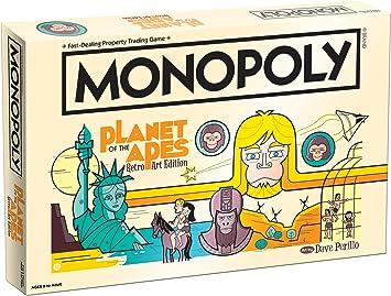 Planet of the Apes Retro Edition Monopoly Juego De Mesa: Amazon.es: Juguetes y juegos