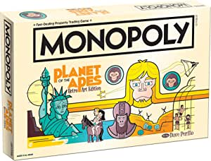 Planet of the Apes Retro Edition Monopoly Juego De Mesa: Amazon.es ...
