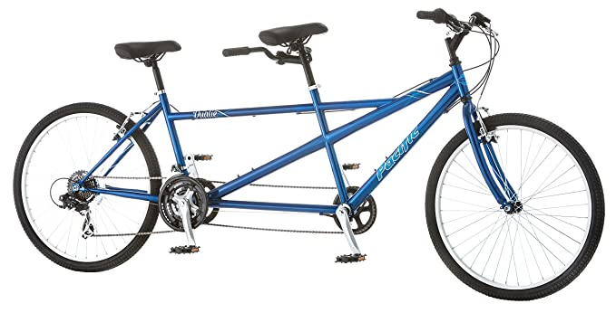Pacific Dualie Tandem Bicycle w/ 26inch Wheels,Blue, One Size best tandem bikes