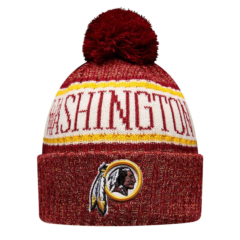 New Era Washington Redskins NFL 2018 On Field Sport Knit