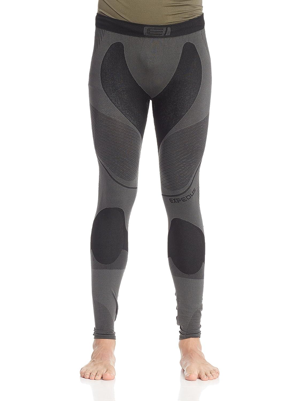Expedus Herren Ski Unterwäsche Funktionswäsche Leggins graphit/schwarz