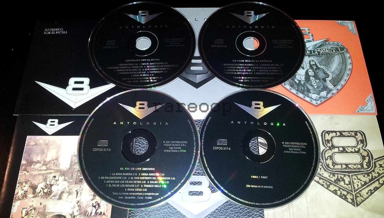 V8 - V8 Antologia 4 CD Luchando Por El Metal Un Paso Mas En ...