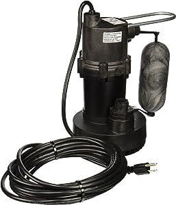 Little Giant 505701 5.5-ASP 1/4 HP Submersible Sump Pump