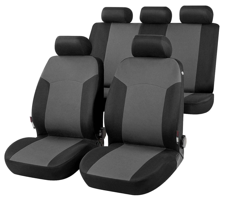 compatibili con sedili con airbag sedili Posteriori sdoppiabili R80S0598 bracciolo Laterale 2006-2014 rmg-distribuzione Coprisedili per Qashqai Versione