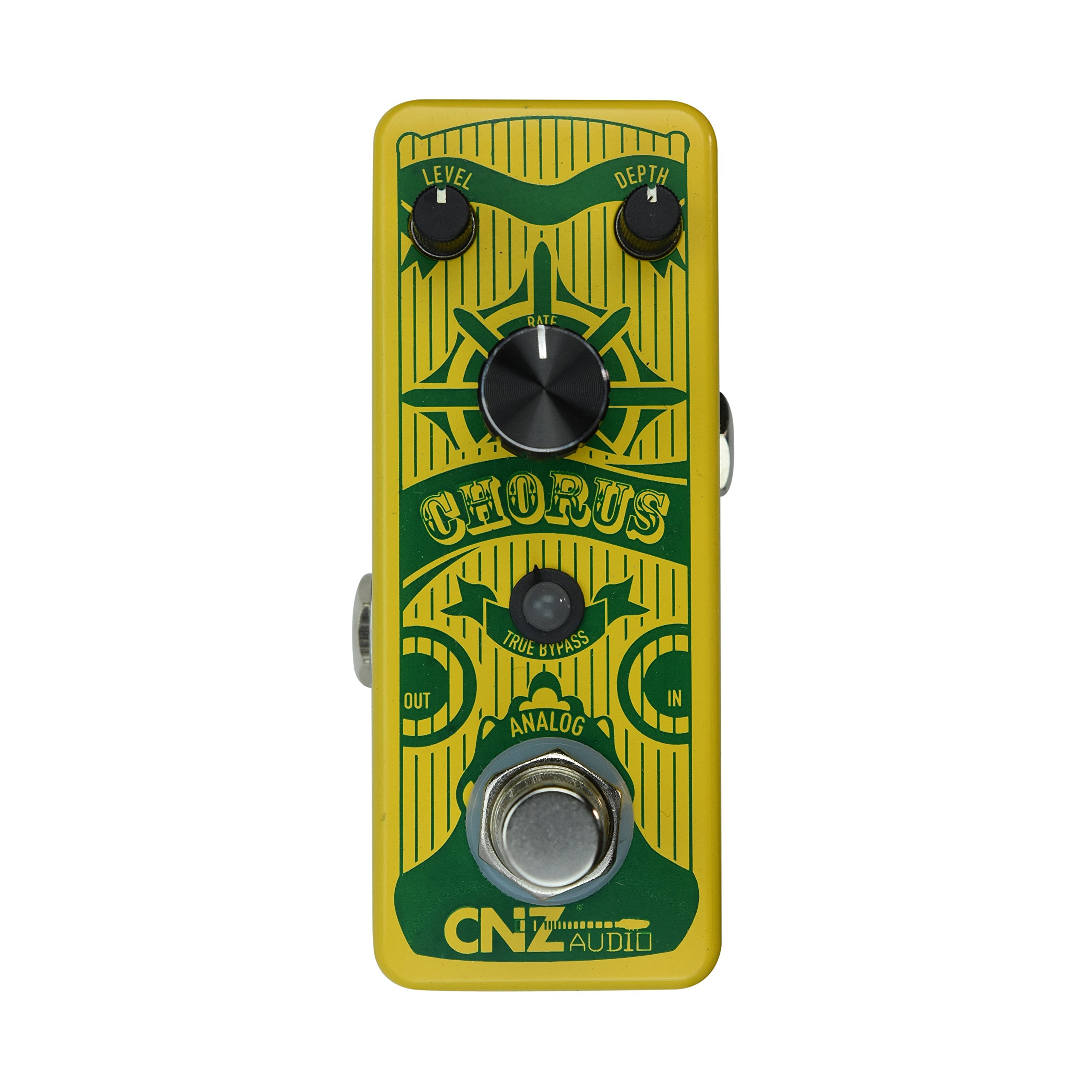 CNZ Audio Analog Chorus Guitar Effects Pedal, True Bypass by CNZ Audio