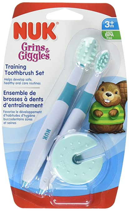 NUK grins and giggles Training Toothbrush Set