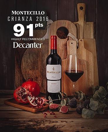 Vino Tinto D.O. Rioja Montecillo Crianza - 1 botella de 75 cl