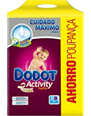 Dodot Activity - Toallitas recambio para bebé, 648 unidades