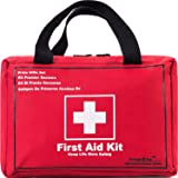 First Aid Only All-Purpose First Aid Kit,130 -Piece Survival Kit,Be Prepared for Office,Home,Car,School,Emergency,Survival,Ca