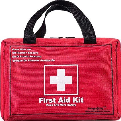 Amazon.com: Kit de primeros auxilios de supervivencia de 130 ...