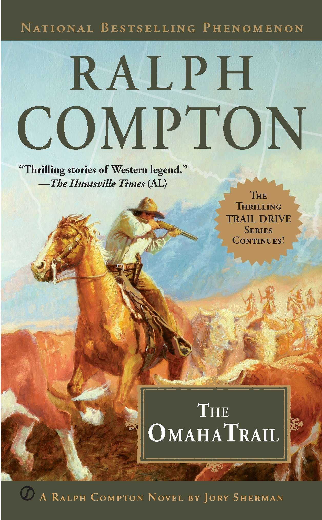 Read Online The Omaha Trail (A Ralph Compton Western) PDF