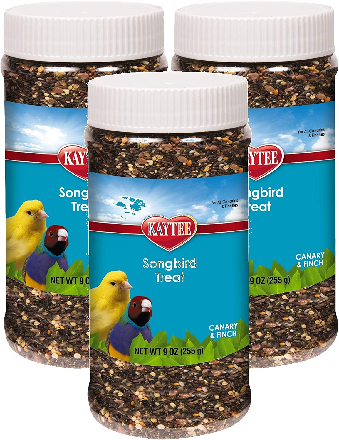 Kaytee Forti-Diet Pro Health Songbird Canary and Finch Treat, 9-Ounce (Pack of 3)