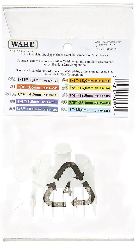 Amazon Wahl Professional Color Coded Comb Attachment 3139 101