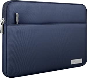 MoKo 13-13.3 Inch Laptop Sleeve Fits MacBook Air 13-inch Retina, MacBook Pro 13 Inch, Protective Notebook Computer Case Cover Polyester Bag with Accessory Pocket - Indigo