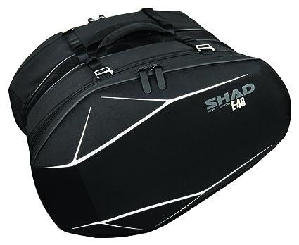 Borse da sella laterali termoformate semirigide 3D E-48  Amazon.it  Auto e  Moto 6ab6c3463e8