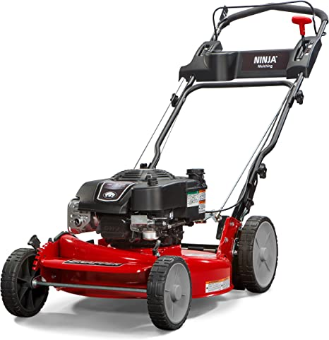 Snapper RP2185020 / 7800981 NINJA 190cc 3-N-1 Rear Wheel Drive Variable Speed Self-Propelled Lawn Mower with 21-Inch Deck and ReadyStart System, Ninja ...