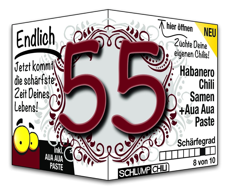 Endlich 55   Eine Tolle Geschenkidee Zum 55. Geburtstag Und Ein Witziges  Geschenk Für Männer Und Frauen!: Amazon.de: Lebensmittel U0026 Getränke