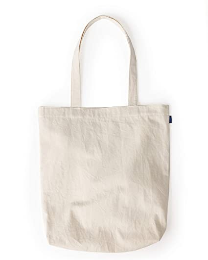 b7f1aef23 Amazon.com: BAGGU Merch Tote, Simple and Easy Canvas Tote Bag, Natural  Canvas: Kitchen & Dining