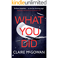 What You Did (English Edition)