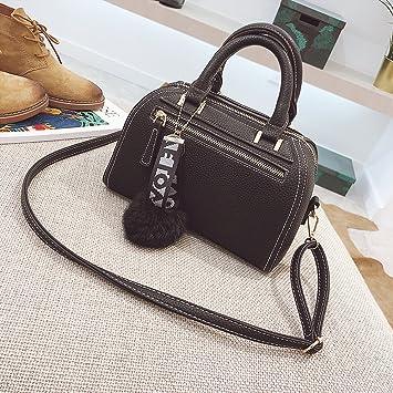 a944faabe9d9d Geprägte Handtaschen Boston Tasche Umhängetasche Diagonal Handtasche Mode
