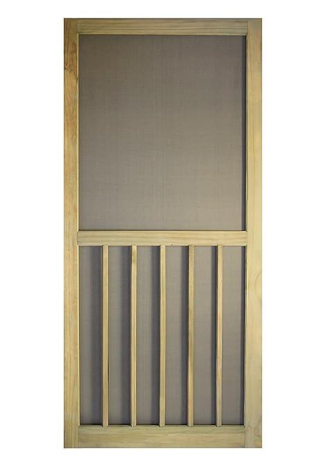 Ordinaire Treated Premium Stainable Screen Door 5 Bar 32 In. X 80 In.