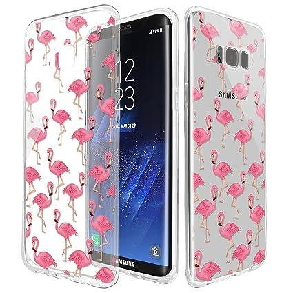 Amazon.com: Carcasa de TPU para Samsung goma S8 ...