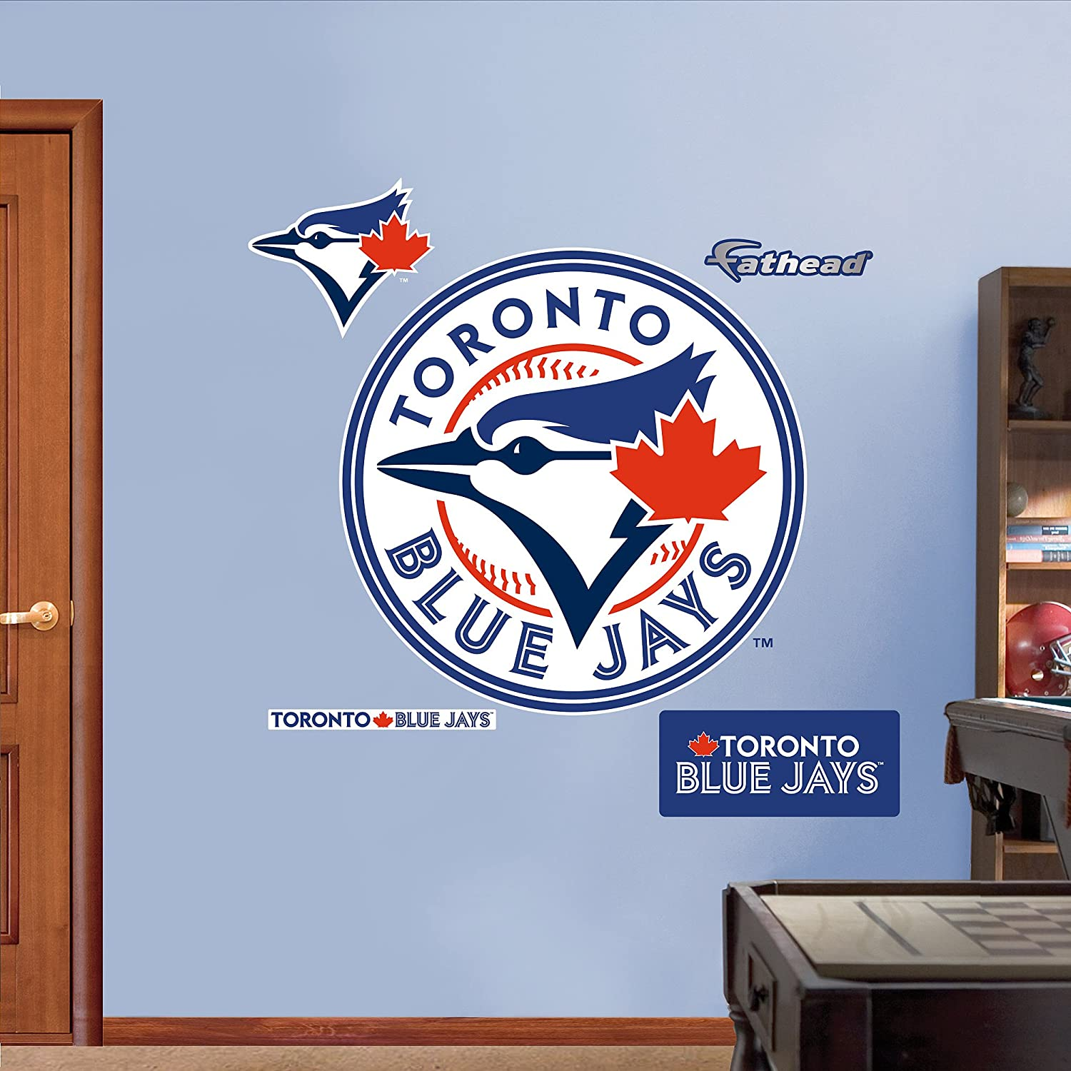 Fathead 63 63365 Wall Decal, Toronto Blue Jays Logo, Wall Decals   Amazon  Canada Part 34