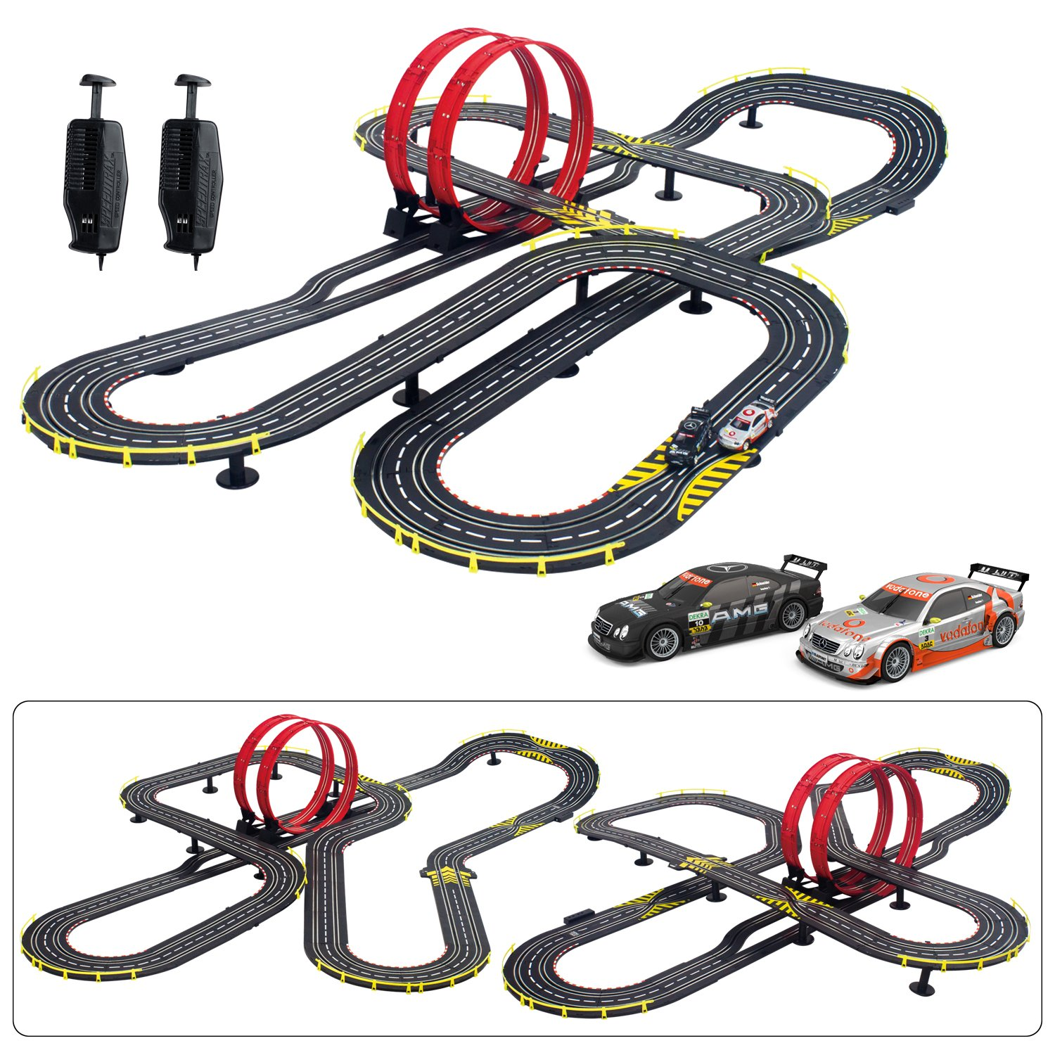 amazoncom artin 143 super loop speedway toy toys games