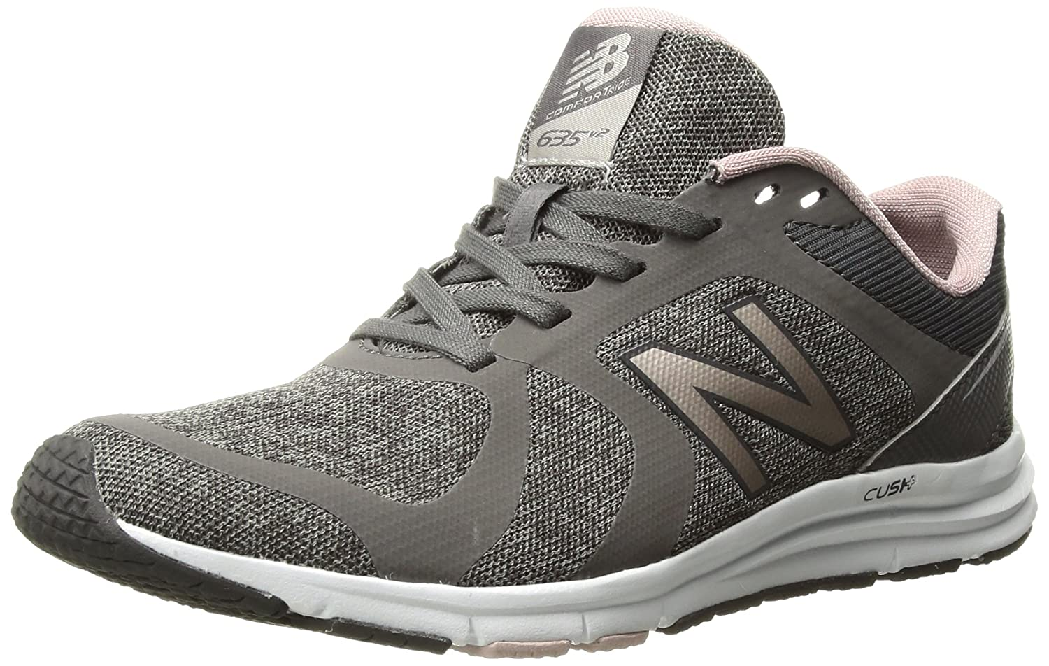 New Balance Women's 635v2 Cushioning B01MY1YAWD 12 D US|Grey