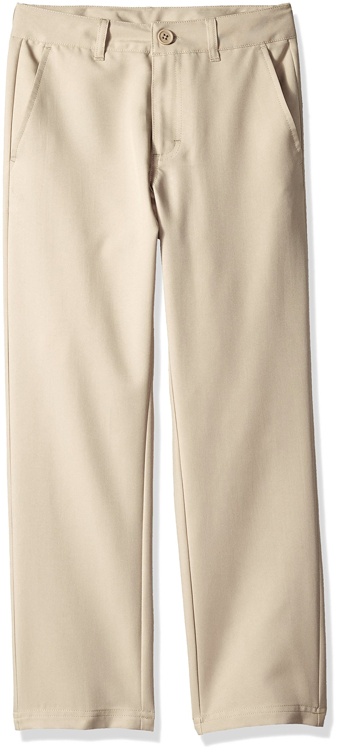 Starter Boys' Golf Club Uniform Pant, Khaki, S (6/7), Amazon Exclusive by Starter