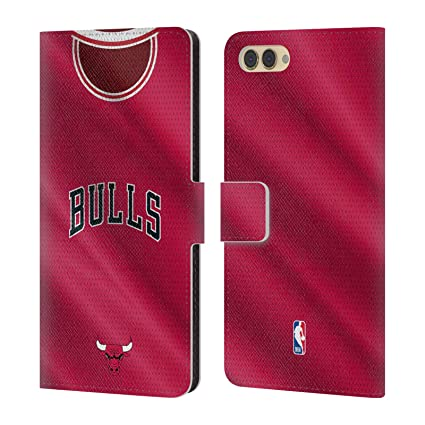 Amazon.com  Official NBA Road Jersey 2018 19 Chicago Bulls Leather ... ed2f07ba6