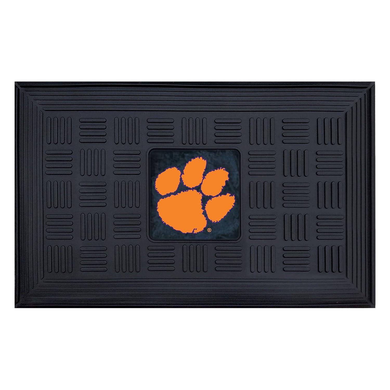 FANMATS NCAA Clemson University Tigers Vinyl Door Mat