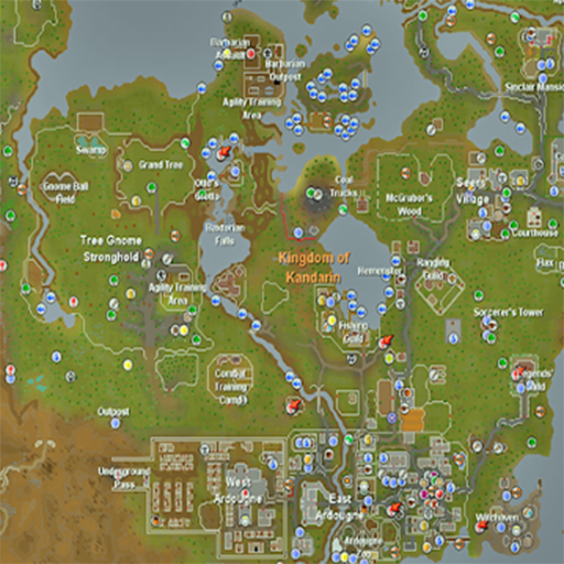 Runescape Map