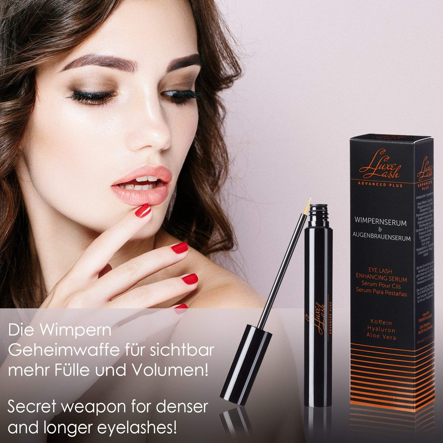 Eyelash Growth Enhancer Serum and Conditioner 4 milliliters by Luxe Lash by Lescale (Image #9)